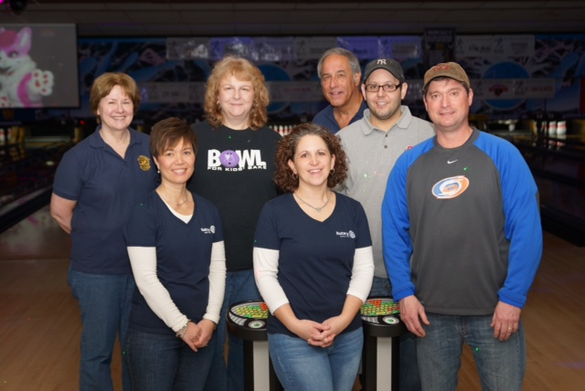 2018 Bowling Team for Big Brothers Big Sisters